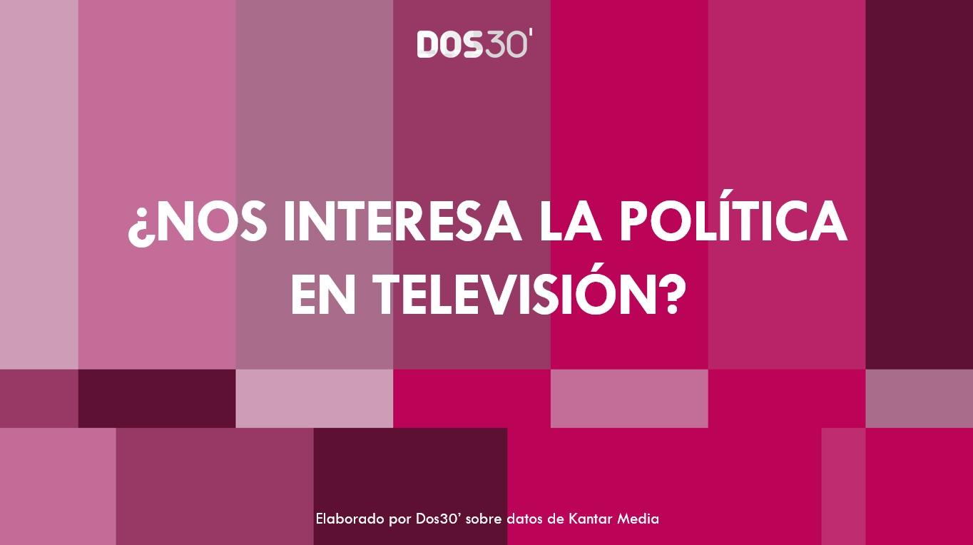 ANÁLISIS DE AUDIENCIAS DE LA POLÍTICA EN TV