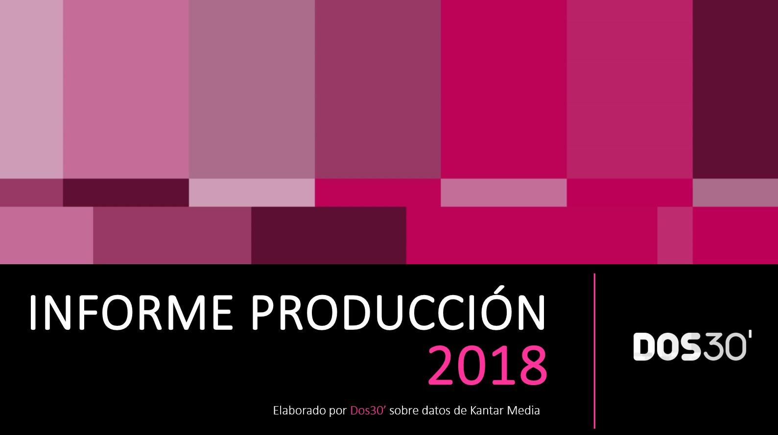 INFORME DE PRODUCCIÓN 2018
