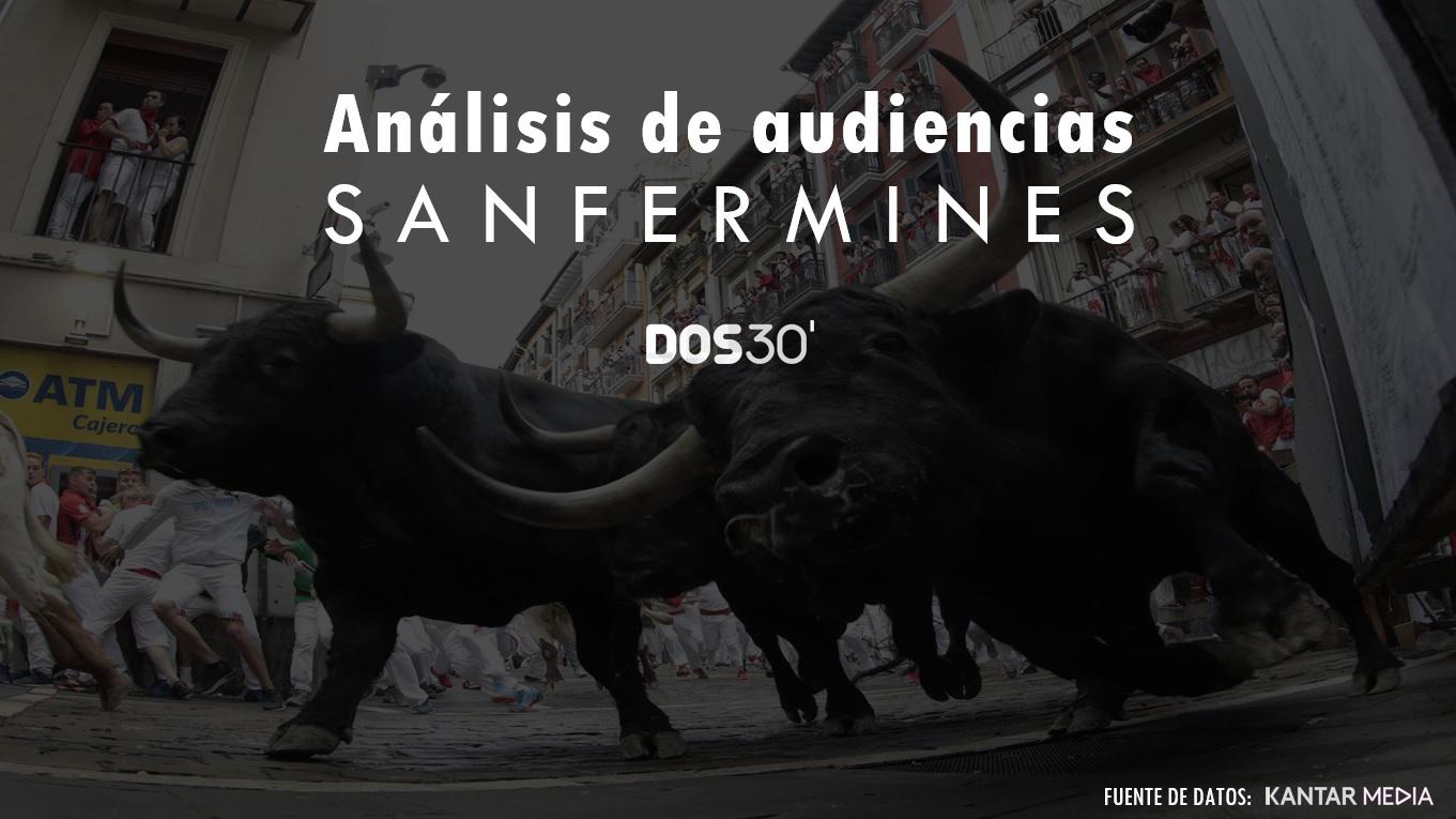ANÁLISIS AUDIENCIAS SANFERMINES 2019