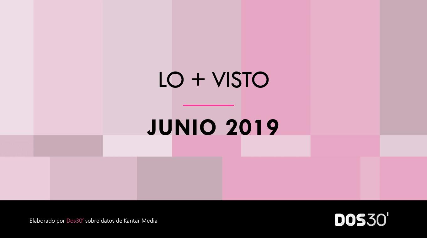 LO + VISTO JUNIO 2019