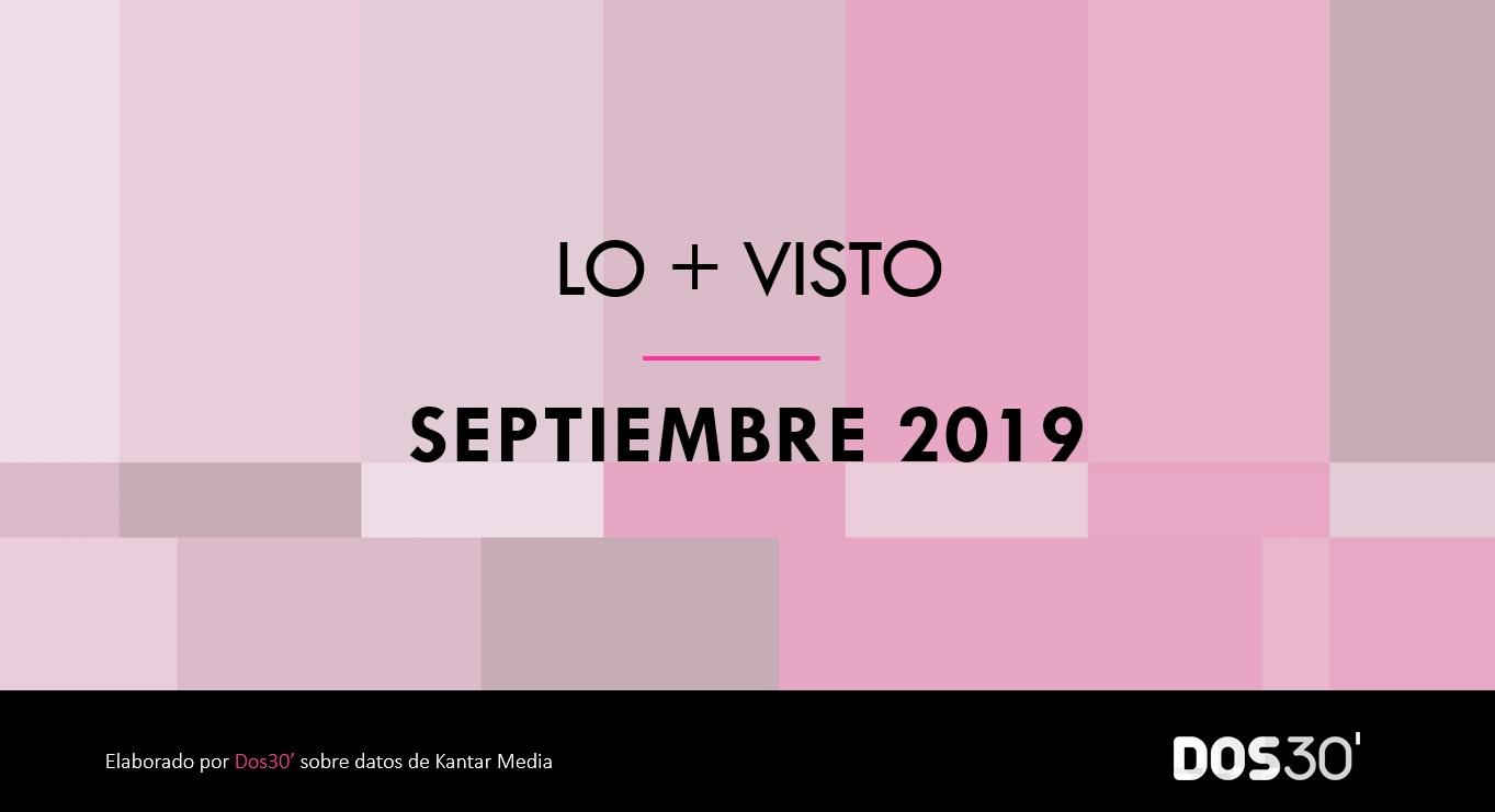 LO + VISTO SEPTIEMBRE 2019