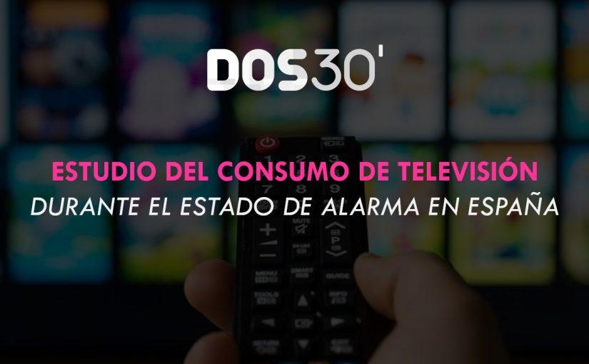 CONSUMO DE TV EN EL ESTADO DE ALARMA
