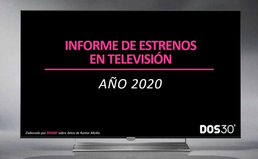 ESTRENOS EN TV 2020