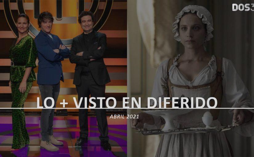 LO + VISTO EN DIFERIDO ABRIL 2021