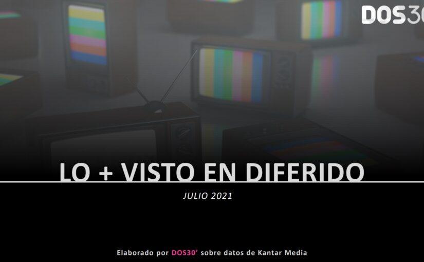 LO + VISTO EN DIFERIDO JULIO 2021