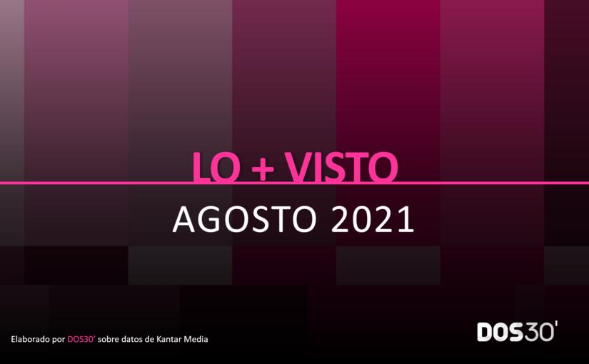 LO + VISTO AGOSTO 2021